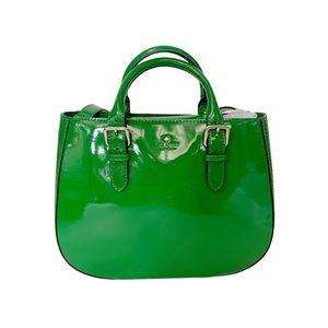 Kate Spade Carlisle Sylvie Patent green NEW